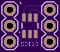 SOT23 PCB front